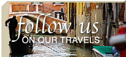 Follow Our European Tours