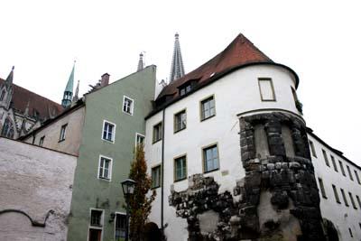 roman ruins in regensburg european focus. Black Bedroom Furniture Sets. Home Design Ideas