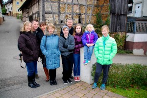 Roger S. took his family to Germany for the Christmas Markets and along the way we visited the village where his ancestors lived before they came to America. This was our final trip of the 2014 season.