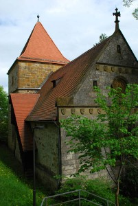 St. Jakob, built about 1200