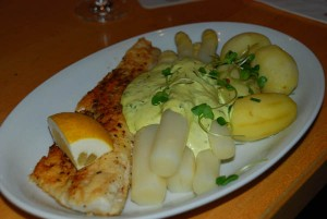 White asparagus in season usually from early April to June 23 is a delicacy enjoyed by many who come to Germany from abroad and who are only familiar with the green variety