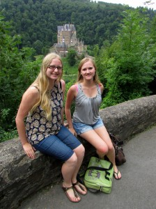 Sisters Christina and Jennifer from Calgary enjoyed their tour in Germany in July, 2013. The two have German ancestry.
