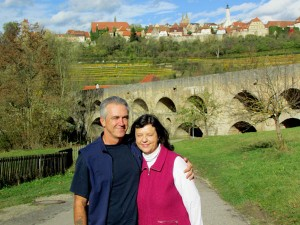 Explore historic towns in Bavaria for example