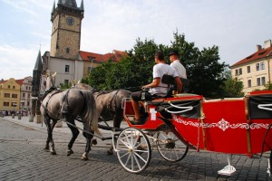 The best way to see Prague if you are limited on time is by one of the 'classic' jalopies which run around the city. We had a nice tour on the morning of our departure, including a ride up to the castle.