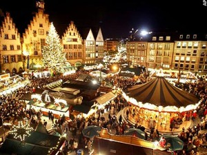 Frankfurt's Christmas Market makes a wonderful stop, even though it is not as famous as others it is considered to be more authentic.