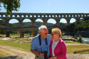 Betty and Bob's second trip was to Provence and Spain