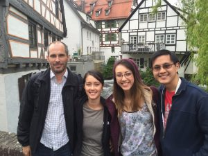 Tim, Cathy, Trahn and Daren from the Perth, Australia area enjoying their two week trip in Germany, Austria and Italy