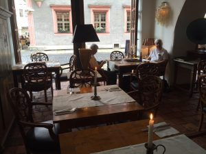 Lunch in a classy place in Goerlitz, the farthest eastern town in Germany