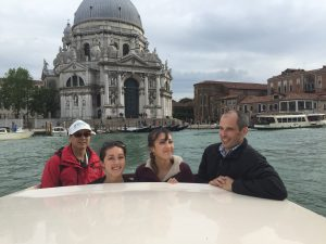 Arriving in Venice in style with a private water taxi. The Grand Canal is impressive whether you've seen it a hundred times or are seeing it for the first